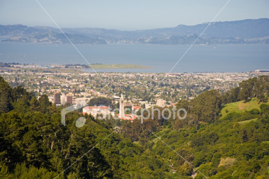 Berkeley from the East Bay Hills